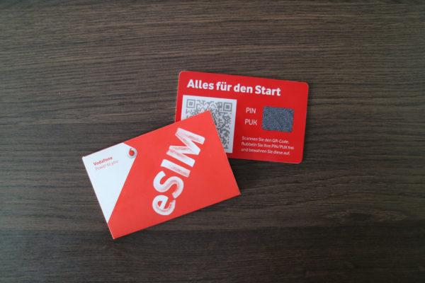 Vodafone startet mit der eSIM - MobileSpeedtest.de