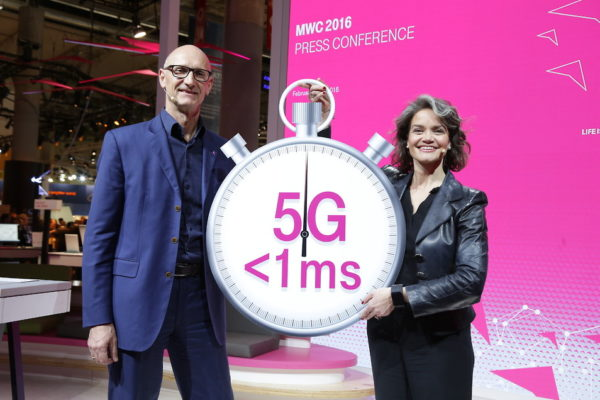 Telekom stellt das 5G-Netz für übermorgen vor