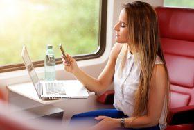 Serien und Filme streamen in der Bahn