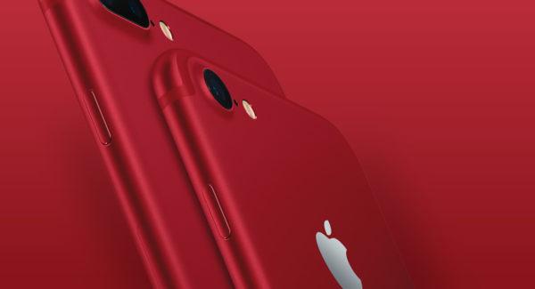 Apple (RED): Rote iPhones ab 24. März 2017
