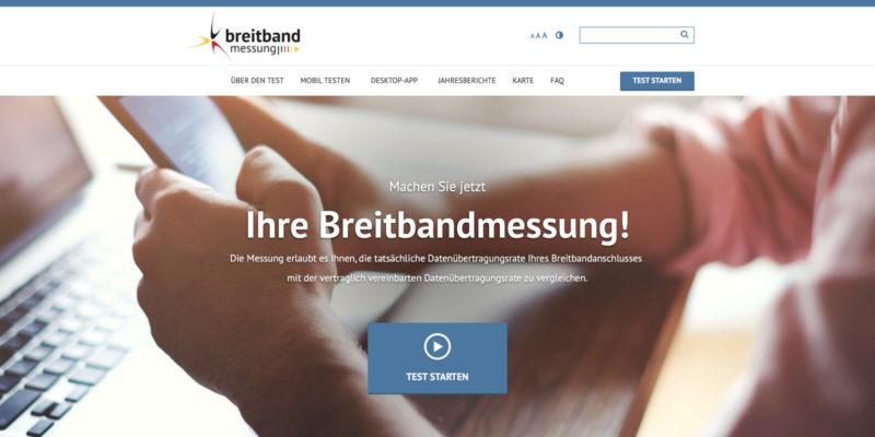 Breitbandmessung: Internet ist oft zu langsam - MobileSpeedtest.de